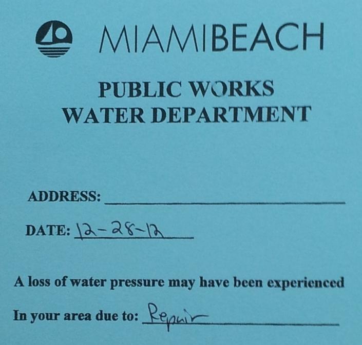 Public Works Advisory