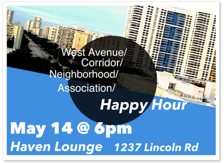 WAvNA  Hosts a Happy Hour at Haven Lounge on May 14
